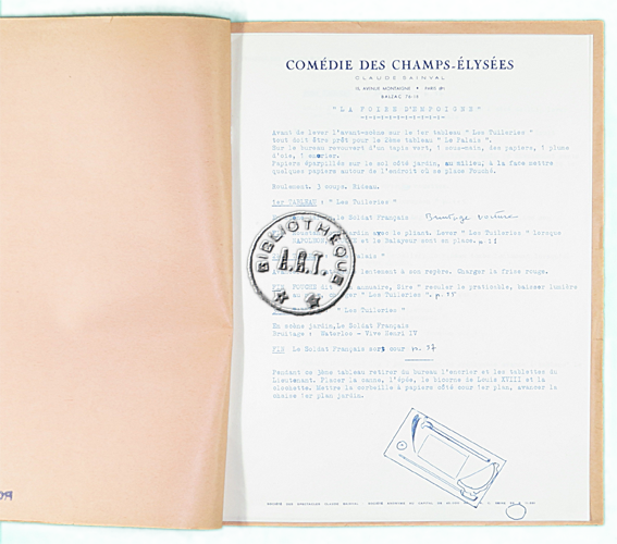 Les relev s originaux de mise en sc ne de jean anouilh - Comedie des champs elysees ...