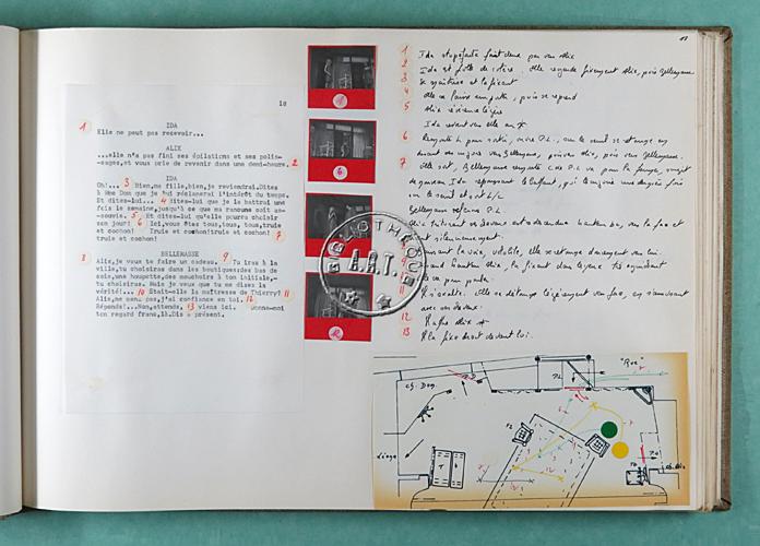 chaud et froid de fernand crommelynck relev de mise en sc ne th tre de l 39 uvre 1967. Black Bedroom Furniture Sets. Home Design Ideas