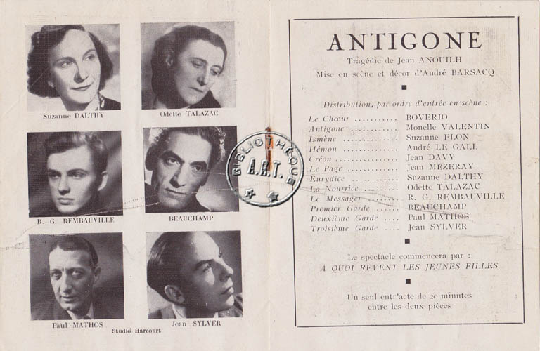 essays on antigone by jean anouilh Essays on antigone creon antigone and creon jean anouilh's antigone entails a story that revolves around a conflict, which is between antigone.