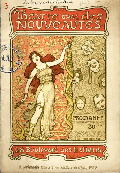 Able Vintage Programme Theatre Folies Bergère 1934 Theater Memorabilia Playbills