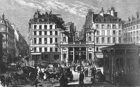 Histoire des th tres parisiens le second empire for Architecture 17eme siecle