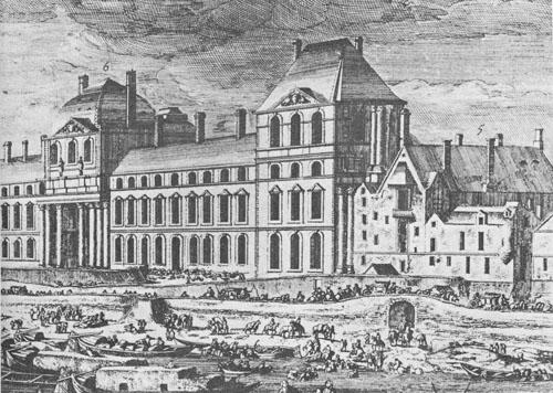 Histoire des th tres parisiens le d but du 17 me si cle for Architecture 17eme siecle