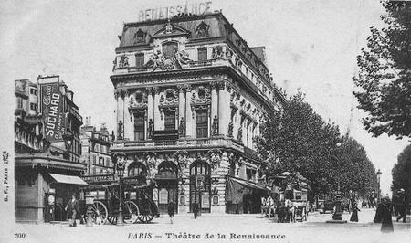 Histoire des th tres parisiens le second empire for Architecture xix
