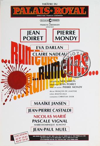 Rumeurs - Pièce de Théâtre 1214